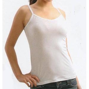 クールビズ 冷感シャツ CoolSpeed(クールスピード) 婦人用 キャミソール Mサイズ ホワイト - 拡大画像