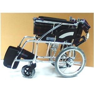 お急ぎの方用3 アルミ軽量車椅子 介助式【非課税】
