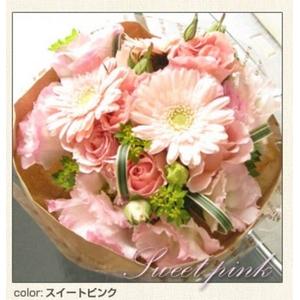 幸せいっぱいの贈り物 フェアリーブーケ ハッピーピンク とっておきのプレゼント♪心を込めた花束を・・・♪ - 拡大画像