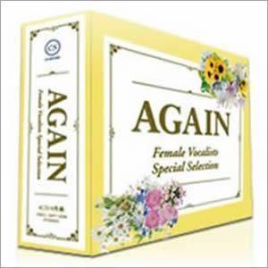 邦楽 オムニバス コンピレーションCDアルバム 【AGAIN - アゲイン -】(CD4枚組 全72曲)歌詞カード 収納BOX付 - 拡大画像