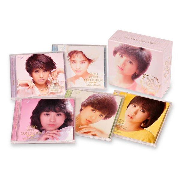 【送料無料】 松田聖子スイート・コレクション 80's ヒッツ CD-BOX5枚組88曲収録