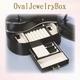 オーバル ジュエリーボックス ブラック - 縮小画像3