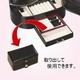 オーバル ジュエリーボックス ブラック - 縮小画像5