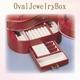 オーバル ジュエリーボックス レッド - 縮小画像3