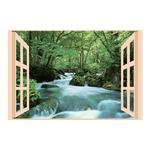 お風呂のポスター四季彩 奥入瀬の渓流