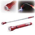 のびーるマグネット付きLEDライト 伸縮式(長さ17〜55cm) /電池式