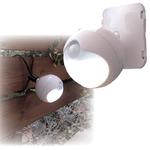防雨LEDセンサーライト モード切替/単3乾電池式 連続点灯約70時間 (玄関/屋内/室外)