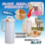 真空断熱ピッチャー「露しらず」/保冷・保温ハンディポット ステンレス製