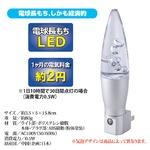 LED常夜灯(LEDナイトランプイルミネーション) コンセント式 自動点灯/自動消灯