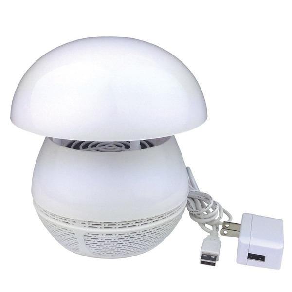 蚊とれ〜る(捕虫器/蚊取り器) USBポート/ON・OFFスイッチ付き