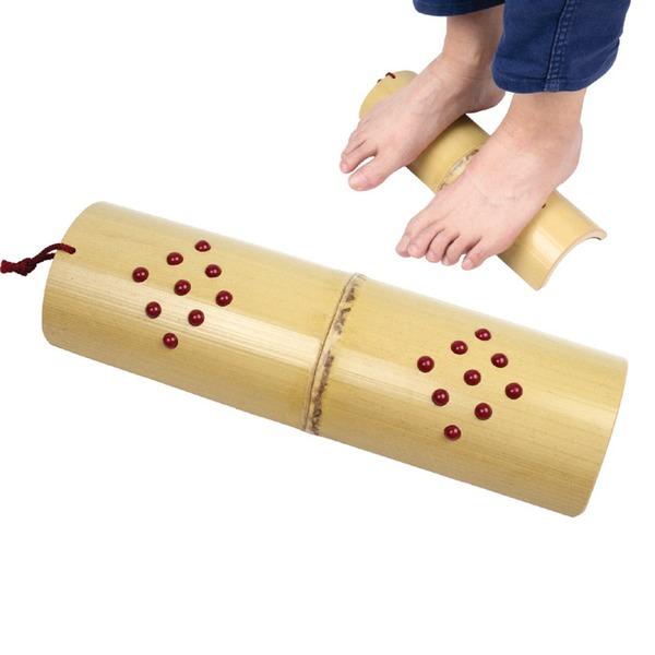 人気の竹踏み 健康グッズ「健康足踏み竹/健康器具 【イボ付き】 薩摩孟宗竹使用 日本製」