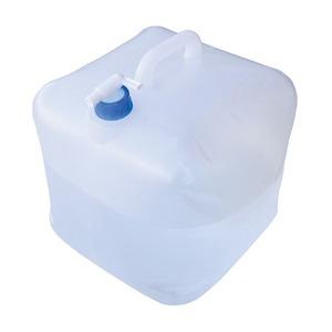 防災用 ウォータータンク/給水タンク 【20L】 折りたたみ式 コンパクトコック付き 飲料水専用 - 拡大画像