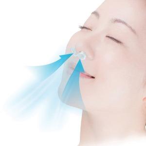 イビキ対策キャップ/健康グッズ 【フリーサイズ】 シリコーン製 洗える ガード付き 日本製
