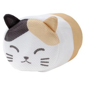 かわいらしい洗濯ネット 三毛猫 - 拡大画像