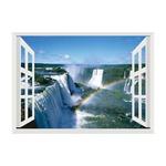 お風呂のポスター世界遺産 イグアスの滝