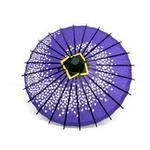 ミニ和傘 桜柄 紫