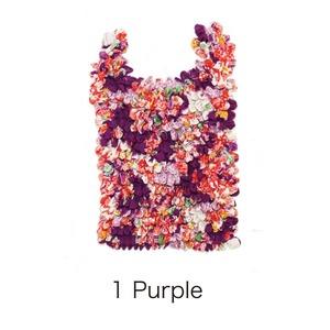 HAM−18絞りバッグ Purple - 拡大画像