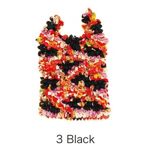 HAM−18絞りバッグ Black - 拡大画像