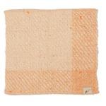 fuwa・fuwanoハンカチ 橙色