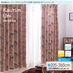 窓を飾るカーテン インファラ Kauriin Uni(カウリイン ウニ) 遮光2級 はっ水(防汚) 形態安定 (HZ) 幅150cm×丈210cm(2枚組) ホワイト