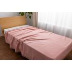 NIKKE×mofua シルク100% 毛布 S(シングル) ピンク