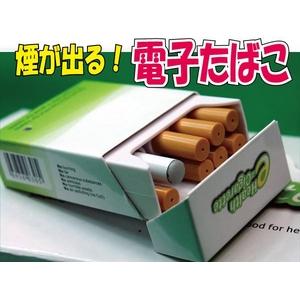 話題の大人気商品!電子タバコの定番!e-シガレット ミント味 - 拡大画像