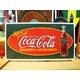 アメリカンブリキ看板 コカコーラ 爆発風ロゴ - 縮小画像1