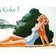 アメリカンブリキ看板 コカコーラ Now for a Coke - 縮小画像3