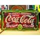 アメリカンブリキ看板 コカコーラ 1900年看板 - 縮小画像1