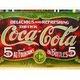 アメリカンブリキ看板 コカコーラ 1900年看板 - 縮小画像3