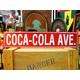 アメリカンブリキ看板 コカコーラ アベニュー - 縮小画像1