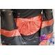 コスプレ 赤×黒の豪華着物 浴衣 和物 袖シースルー - 縮小画像5