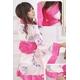 コスプレ ピンクセット 豪華な花柄着物 浴衣 - 縮小画像3