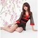コスプレ 黒のセクシー豪華着物 浴衣 和物 - 縮小画像4