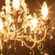 豪華でアンティーク調シャンデリア☆ティアラ(ホワイト)【HZA06559white】 - 縮小画像2