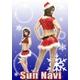 【サンタクロース コスプレ 衣装】☆クリスマスサンタ・ショートドレス S303☆ - 縮小画像2