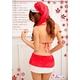 コスプレ 2011年新作 クリスマス☆サンタクロースコスプレセット/コスチューム/s002 - 縮小画像3
