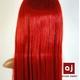 耐熱高級繊維 コスプレに欠かせないカラーウィッグ COSPLAY Sレッドオレンジ - 縮小画像5