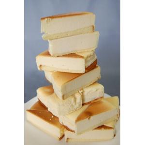 【訳あり】濃厚☆チーズケーキ 約1kg 40g前後×8カット×3パック - 拡大画像