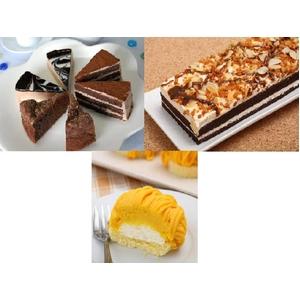 りょうおもい&チョコスイーツ セット(ケーキ5種) - 拡大画像