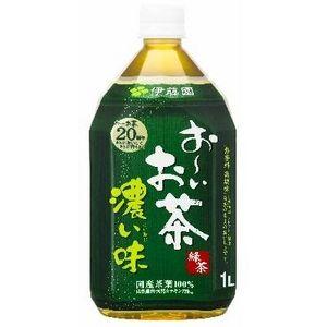 伊藤園 おーいお茶 濃い味 1L 24本セット - 拡大画像