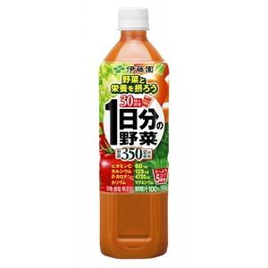 【ケース販売】伊藤園 1日分の野菜 900g×24本セット まとめ買い