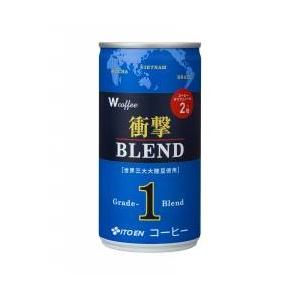 伊藤園 W coffee 衝撃ブレンド190g×60本セット - 拡大画像