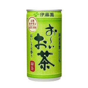 【ケース販売】伊藤園 おーいお茶 缶190g×60本セット まとめ買い - 拡大画像