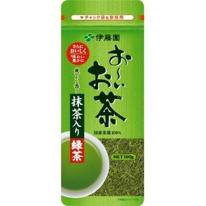 【ケース販売】伊藤園 お〜いお茶 抹茶入り緑茶【100g×10本セット】 まとめ買い - 拡大画像