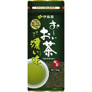 【ケース販売】伊藤園 お〜いお茶 濃い味緑茶【100g×10本セット】 まとめ買い - 拡大画像