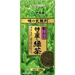 【ケース販売】伊藤園 味の太鼓判 特上蒸し緑茶1000【100g×10本セット】 まとめ買い