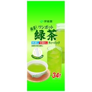 【ケース販売】伊藤園 お〜いお茶 ワンポット緑茶【34袋×10本セット】 まとめ買い - 拡大画像