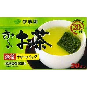 【ケース販売】伊藤園 お〜いお茶 緑茶ティーバッグ【20袋×20セット】 まとめ買い - 拡大画像