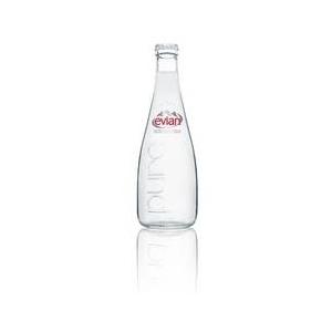 evian(エビアン) 750ml瓶×12本入り 1セット 【ミネラルウォーター】 - 拡大画像